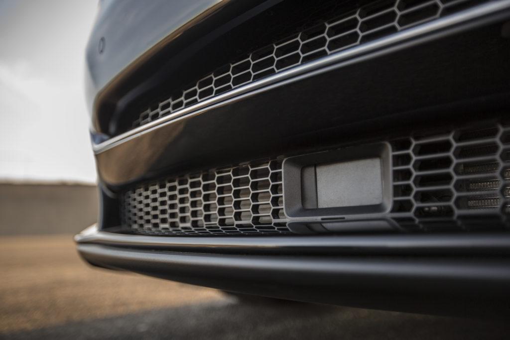Model S front radar sensor